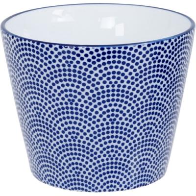 《Tokyo Design》瓷製茶杯(點扇藍170ml)