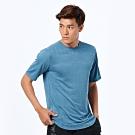 New Balance NB ICE 涼感短袖上衣 AMT93250CMY 男 灰藍