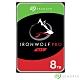 Seagate那嘶狼IronWolf Pro 8TB 3.5吋 NAS專用硬碟 product thumbnail 1