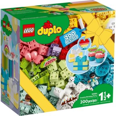 樂高LEGO Duplo幼兒系列 - LT10958 創意生日派對