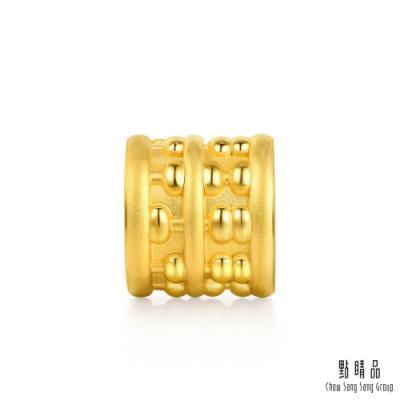 點睛品 Charme 新生彌月-算盤 黃金串珠