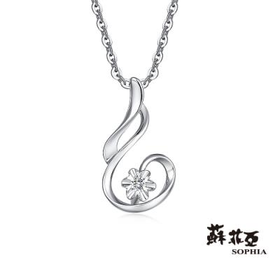 蘇菲亞 SOPHIA - Greece系列心動旋律鑽石項鍊