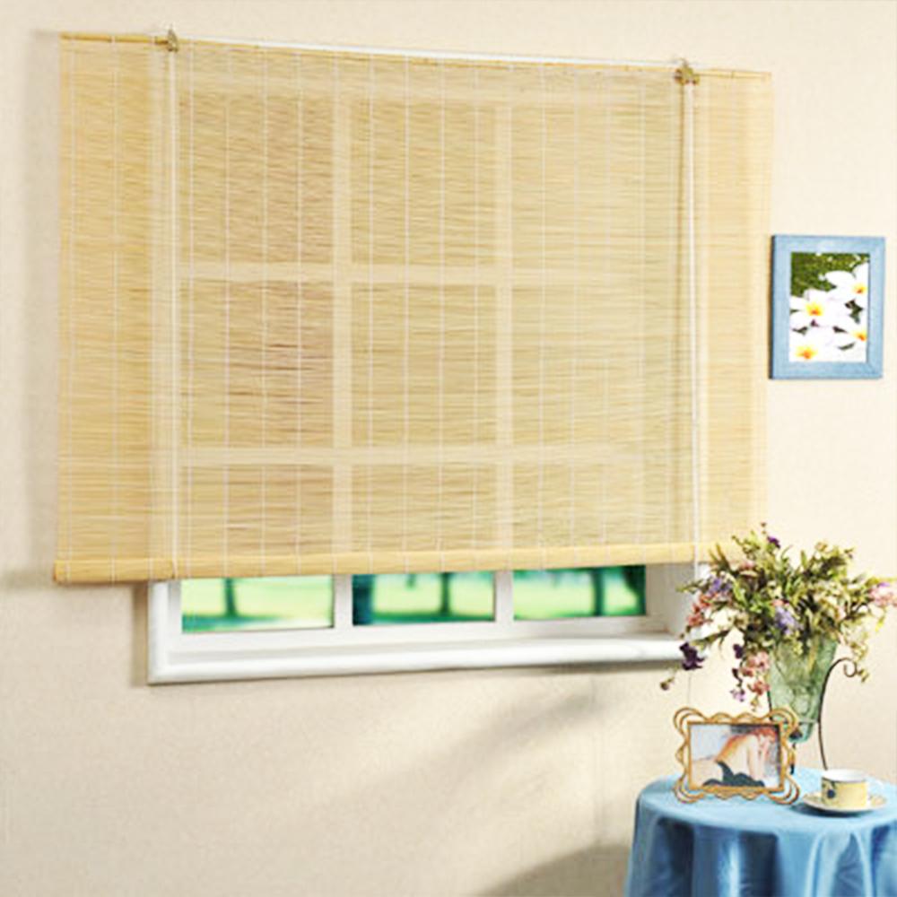 芸佳 日式雅緻自然風竹簾 (寬150*長160cm)