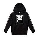 FILA KIDS #東京企劃原宿篇 童連帽T恤-黑 1TES-8420-BK