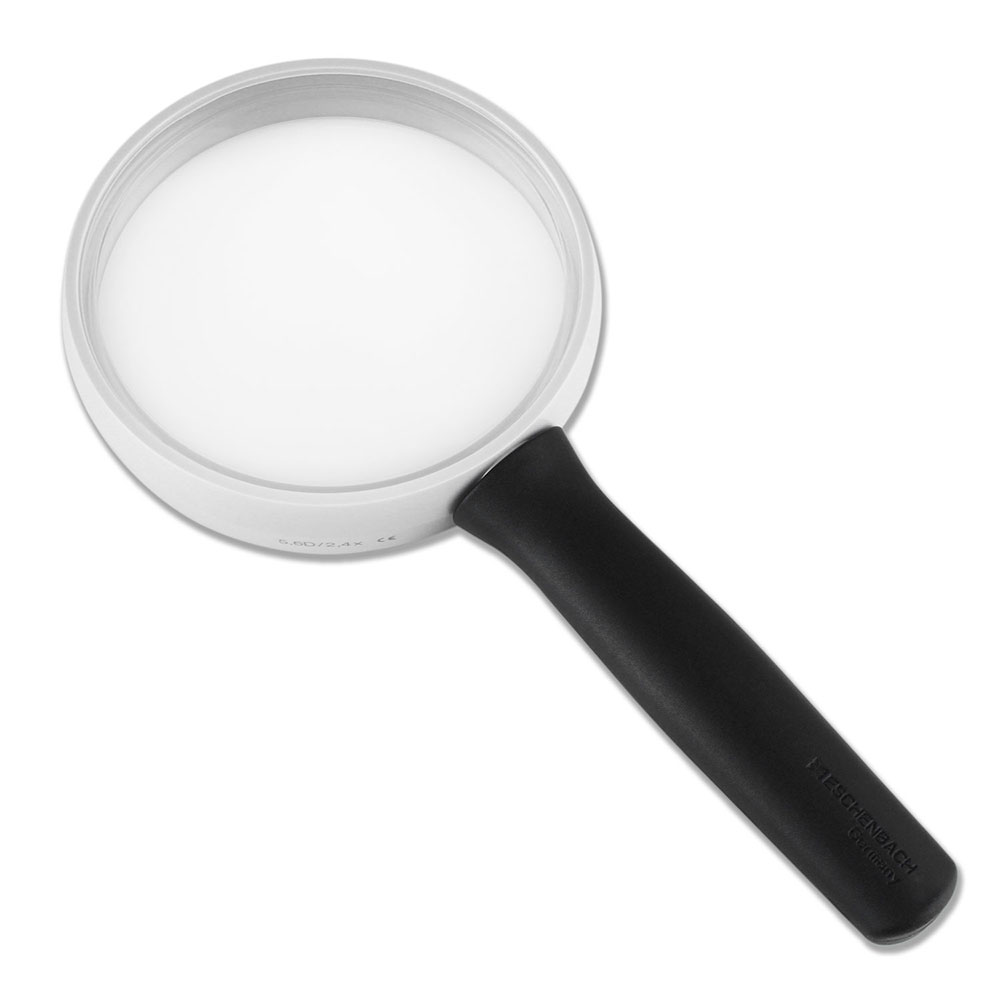【Eschenbach】2.4x/5.6D/85mm 德國製手持型齊焦非球面放大鏡