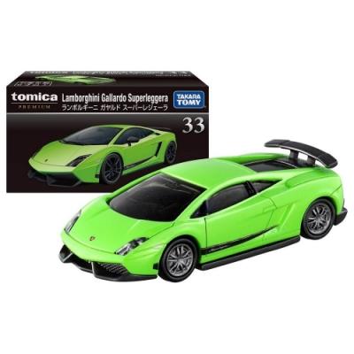 任選TOMICA PREMIUM 33 藍寶基尼Gallardo TM14056 綠 多美小汽車