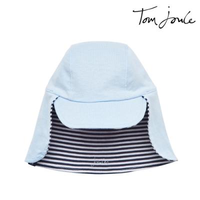 英國【Joules】Sunny藍條紋雙面防曬帽