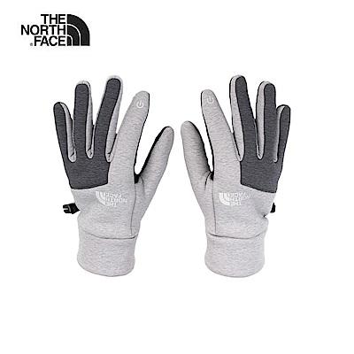 The North Face北面男款灰色可觸屏手套|3KPSFPH