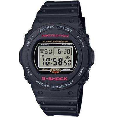 G-SHOCK 復刻經典運動錶(DW-5750E-1D)45.4mm