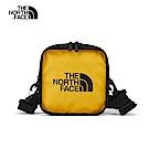 The North Face北面男女款黃色方形休閒小肩背包 3VWSLR0