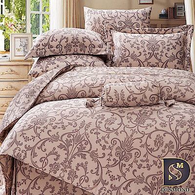 DESMOND岱思夢 加大100%天絲全鋪棉床包兩用被四件組 芙可曼