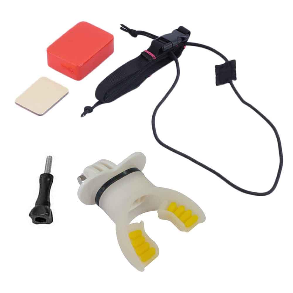 GoPro 副廠 水上活動 衝浪 牙套連接組 漂浮套件 for HERO 小蟻 SAMGO