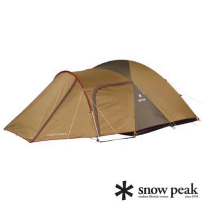 Snow Peak 新款 Amenity Dome 5人寢室鋁合金家庭露營帳蓬