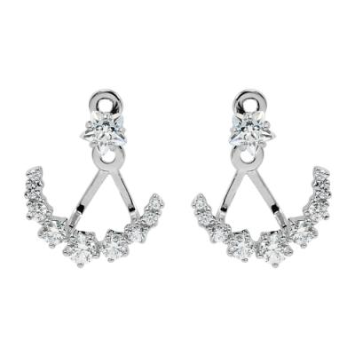 SWAROVSKI 施華洛世奇 Penélope Cruz璀璨水晶點點星光銀色耳環