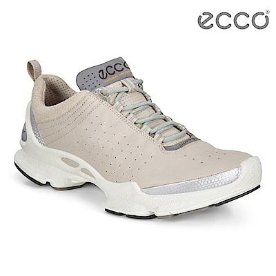 ECCO BIOM C W 銷售冠軍自然律動健步鞋 女-白
