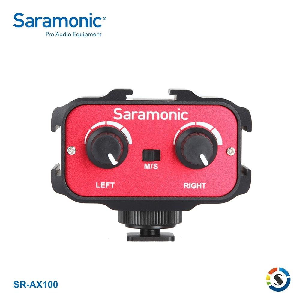 Saramonic楓笛 SR-AX100 單眼相機、攝影機混音器