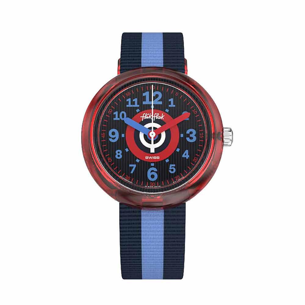 FlikFlak 兒童錶 TWOBLUE 藍彩繽紛