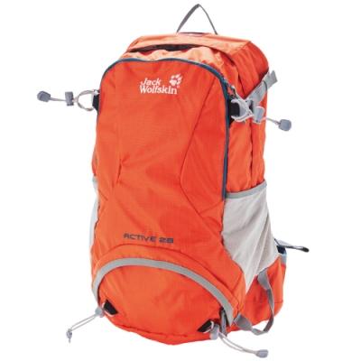 【Jack Wolfskin 飛狼】Active 健行背包 28L『橘色』
