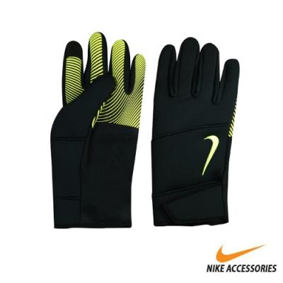 NIKE 男用保暖手套 黑綠 NWGI0077