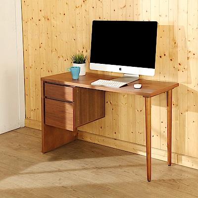 BuyJM歐風實木腳雙抽書桌/工作桌(110x45x70公分)-DIY