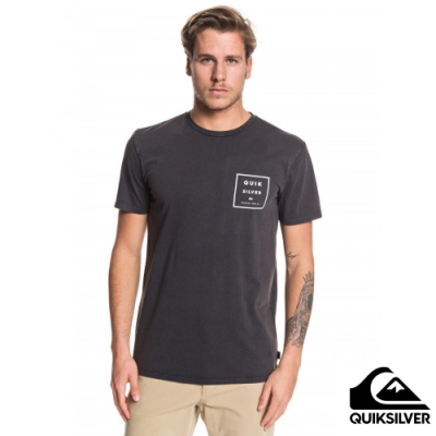 【QUIKSILVER】SQUARED UP SS T恤 黑