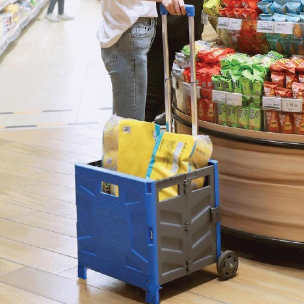 巨無霸萬用折疊收納車-大型加蓋 lemonsolo