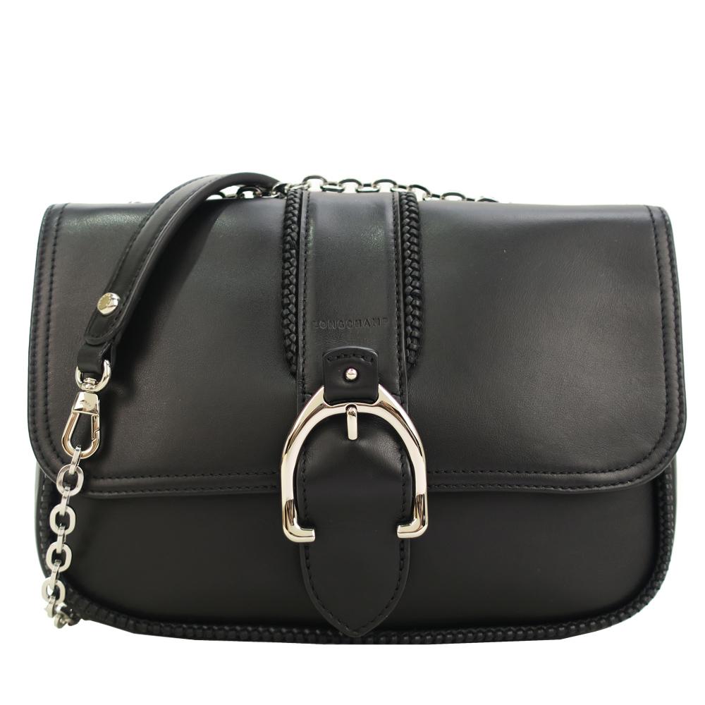 Longchamp AMAZONE系列荷篷包-黑/中 @ Y!購物