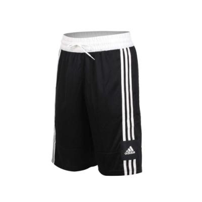 ADIDAS 男籃球短褲-五分褲 訓練 愛迪達 亞規 FT5879 黑白