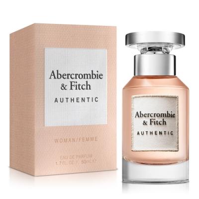 Abercrombie & Fitch 真我女性淡香精50ml