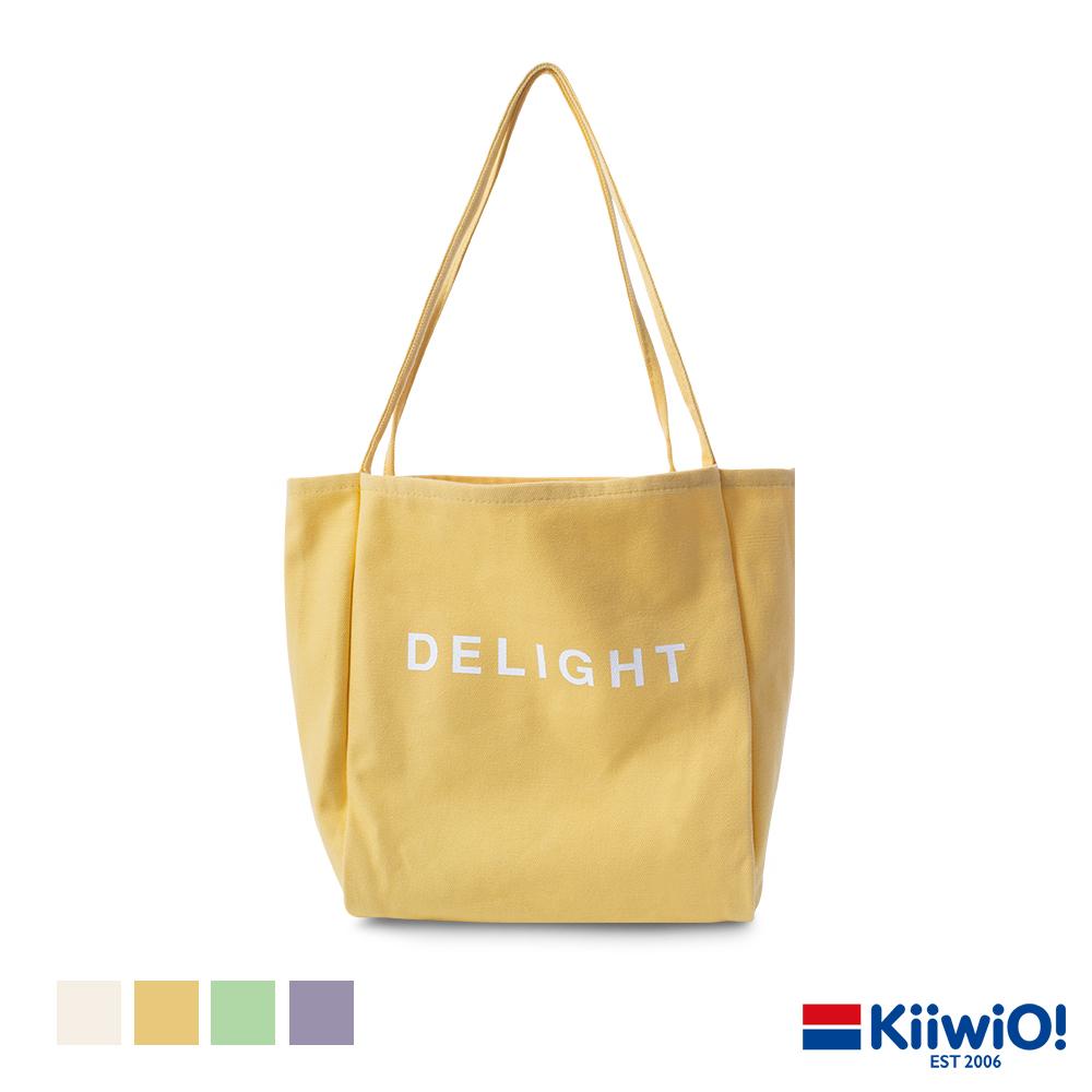 Kiiwi O! 糖果色百搭帆布單肩包 DELIGHT (多色選)