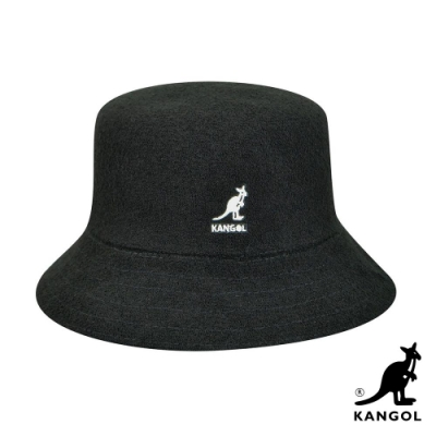 KANGOL -BERMUDA BUCKET 漁夫帽-黑色