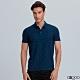 G2000印花網眼點點短袖polo衫-深藍色 product thumbnail 1