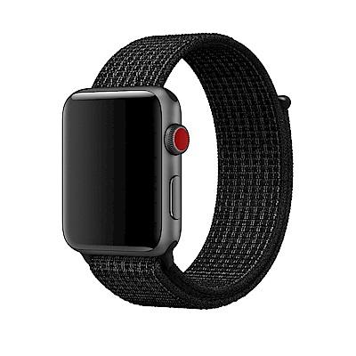 【APPLE原廠公司貨】黑色配Pure Platinum Nike運動型錶環