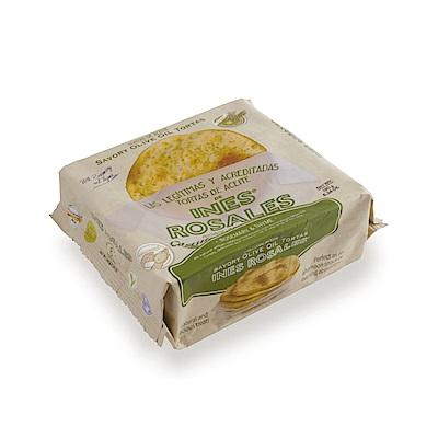 西班牙Ines Rosales 手工橄欖油薄餅 (迷迭&百里香 x10包)