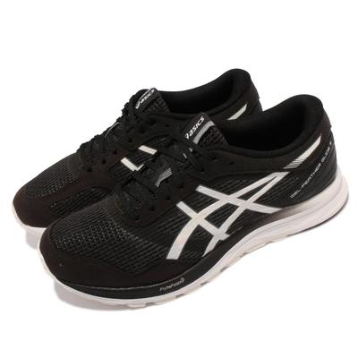 Asics 慢跑鞋 GEL Feather Glide 5 男鞋 亞瑟士 寬楦 緩震 透氣網布 亞瑟膠 黑 白 1011A812001