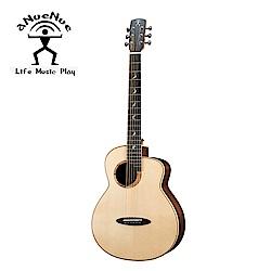 aNueNue MB200E 飛鳥 全單電木吉他 月亮雲杉印度玫瑰木