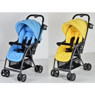 義大利 AZZURRA雙向輕推車(藍色/黃色)