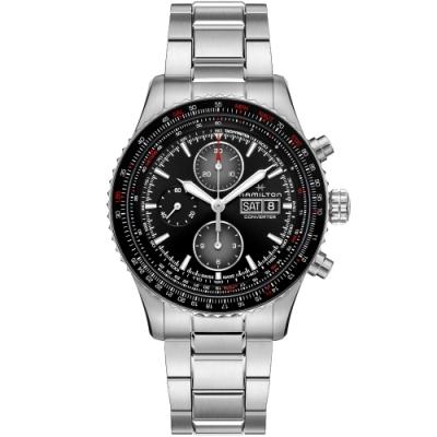 Hamilton 漢米爾頓 Khaki 航空飛行計時機械錶(H76726130)44mm