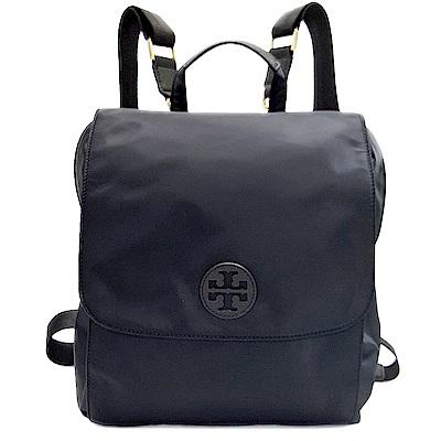 TORY BURCH BABY BACKPACK 尼龍輕量時尚後背包-黑色