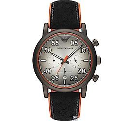 Emporio Armani  超凡時尚計時腕錶(AR11174)43mm