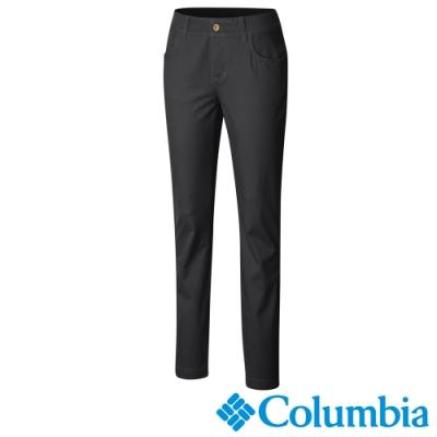 Columbia 哥倫比亞 女款-防曬50長褲-黑色 UAK11330BK