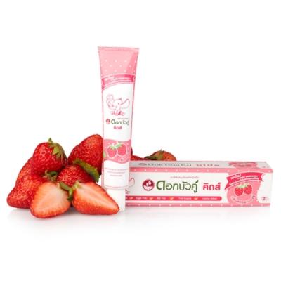 Twin Lotus雙蓮 皇室草本兒童健齒護齦牙膏(草莓)35g