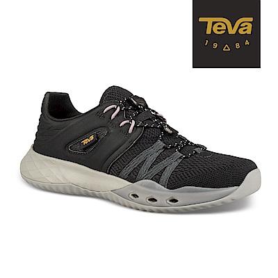【TEVA】原廠貨 女 Terra-Float Churn 輕量水陸休閒鞋/溯溪鞋(深灰-TV1099435BLK)