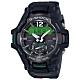 G-SHOCK 飛機儀表板概念太陽能藍牙錶(GR-B100-1A3)-黑x綠/53.8mm product thumbnail 1