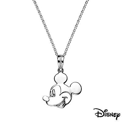Disney迪士尼系列銀飾 純銀墜子-童話米奇款 送項鍊