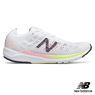 New Balance輕量跑鞋W890WO7-B_女白色
