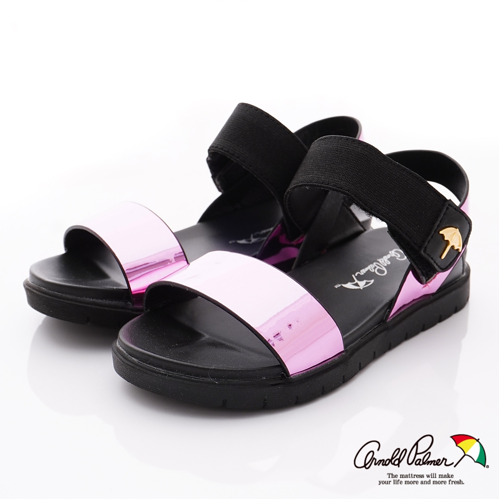 雨傘牌 晶亮休閒涼鞋款 EI93856桃紅(中小童段)