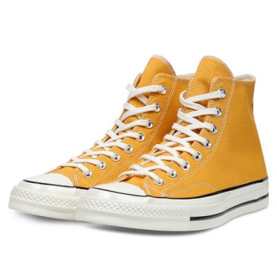 CONVERSE 1970 男女款 高筒帆布鞋-褐(黃) 162054C