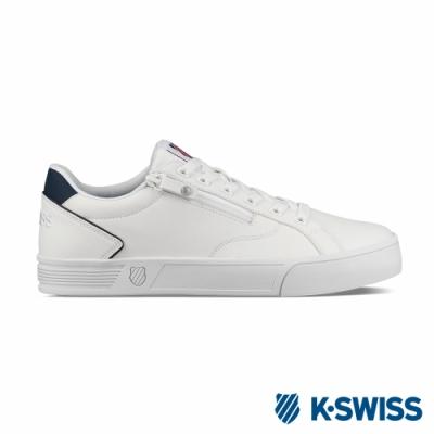 K-SWISS Court Lite Zipper S休閒運動鞋-女-白