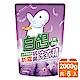 白鴿 天然濃縮防霉洗衣精補充包-天然香蜂草2000gx6入/箱 product thumbnail 1